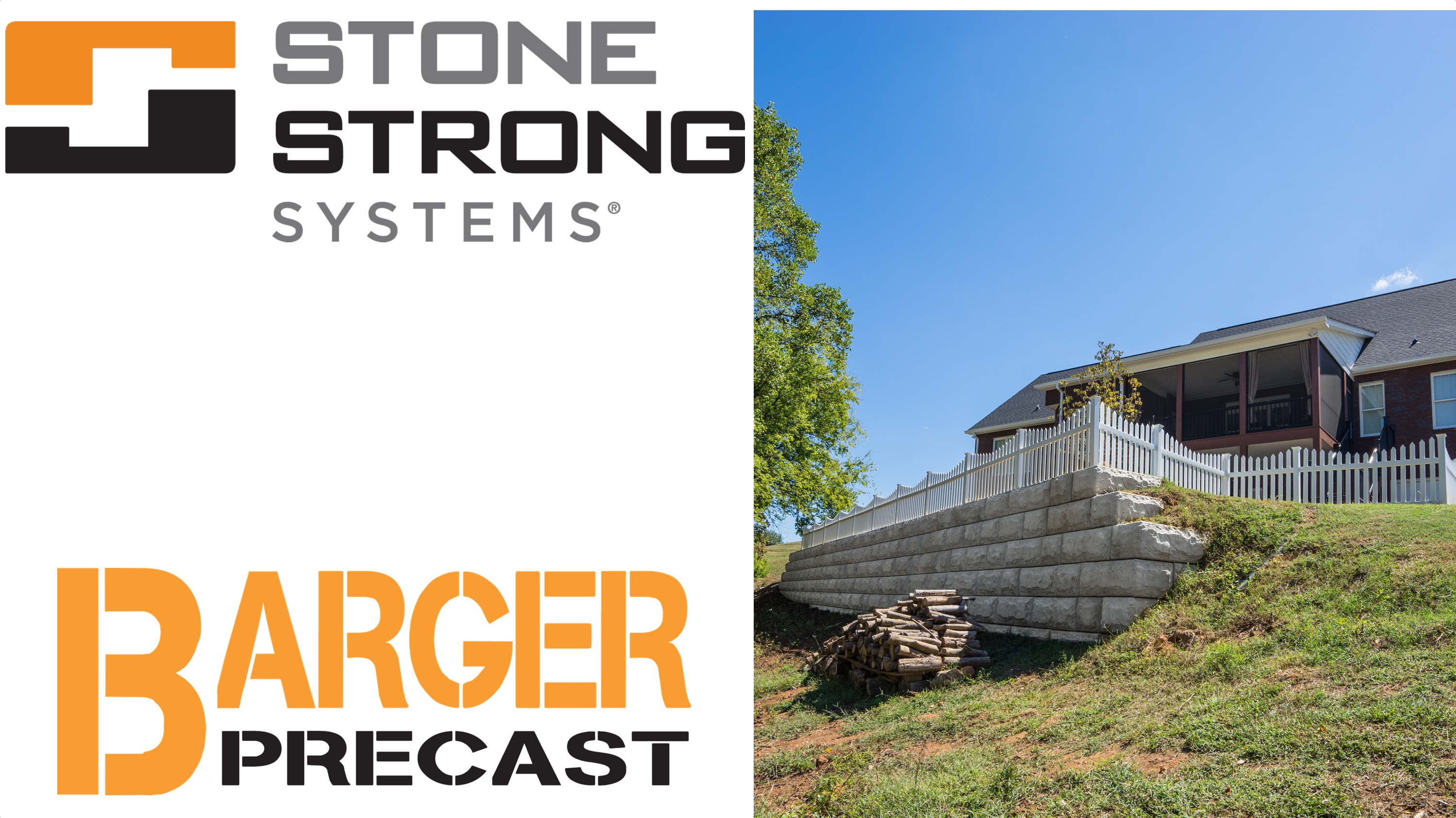 Residential Stone Strong Retaining Wall